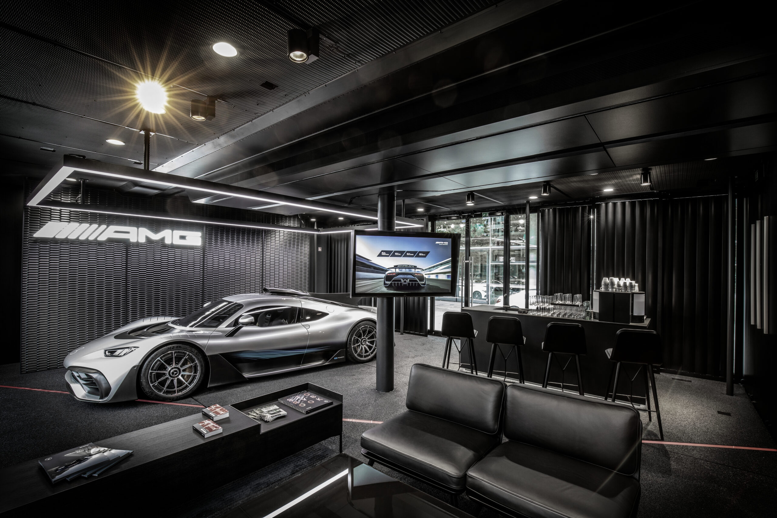 Mercedes-AMG Project One Showroom Truck