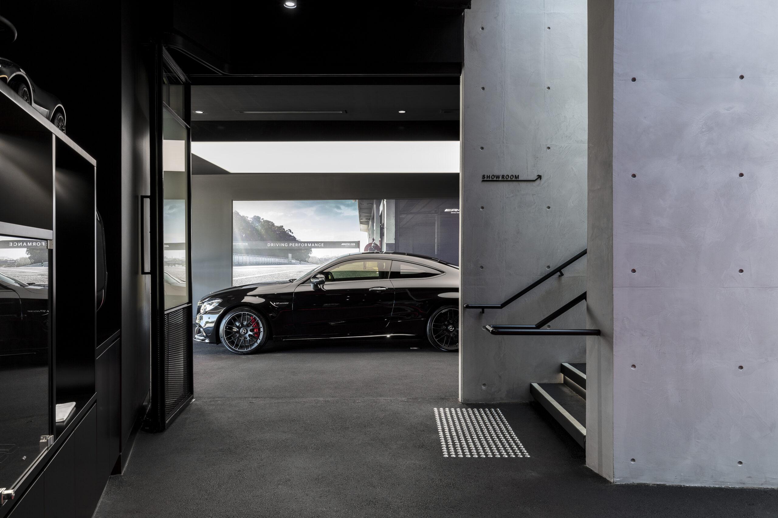 Mercedes-AMG Sydney by Heller Designstudio