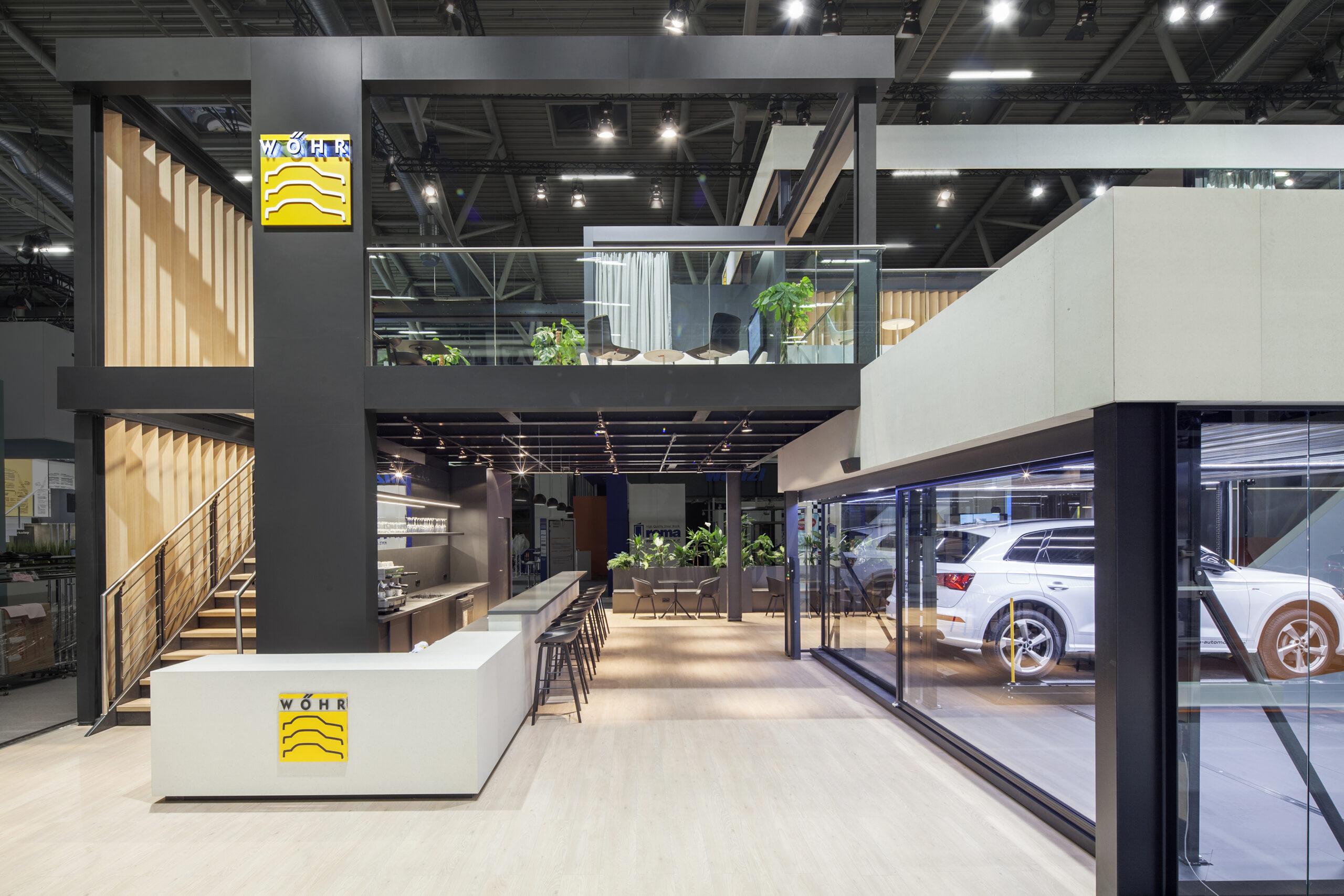 Wöhr Autoparksysteme Bau 2019 by Heller Designstudio